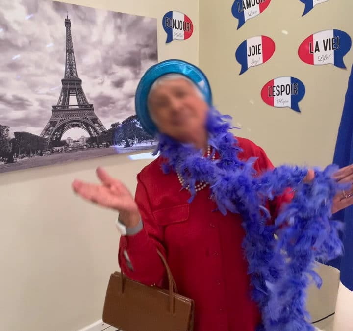 French Theme and VaccinationWeek