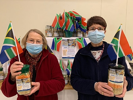 Jars of Hope from the HSFA